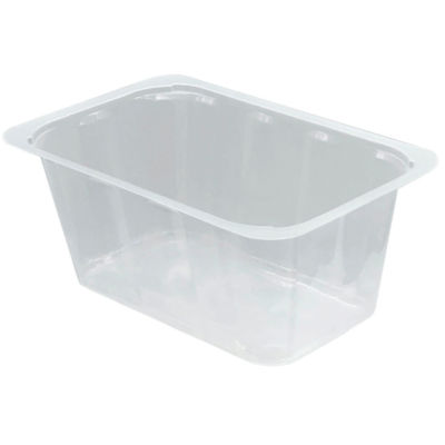 Transparent Container AH90T Compac in Polypropylene (PP)
