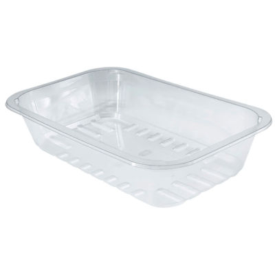 Container CBRR50KT transparent in APET Compac