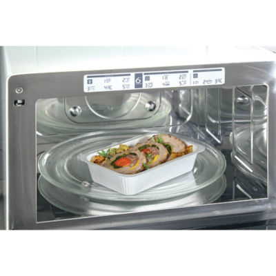 Container in Cellulose Pulp Compac in microwave oven