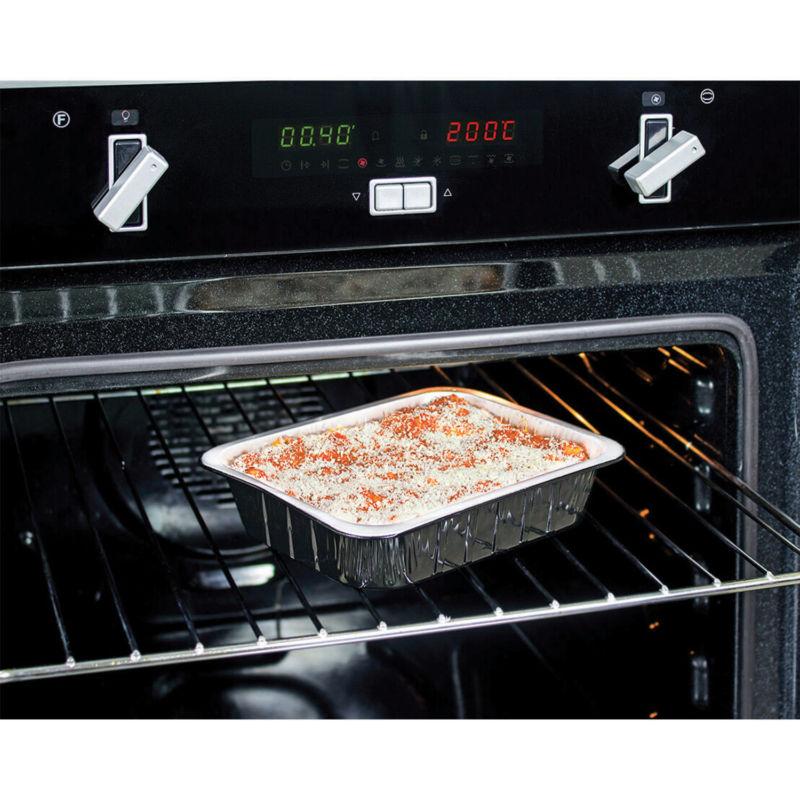 Contenitore in alluminio smooth wall ALbn Compac in forno tradizionale