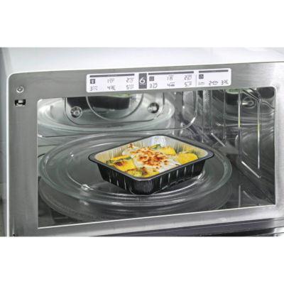 Contenitore in alluminio smooth wall ALc Compac in forno microonde