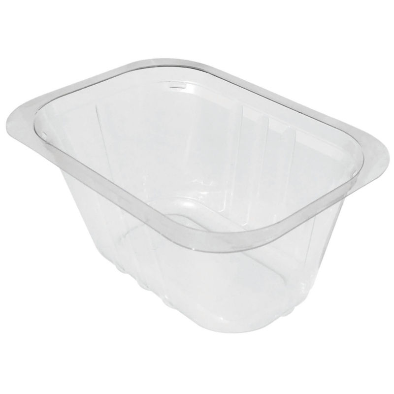 GD63PT transparent Container Compac in PLA